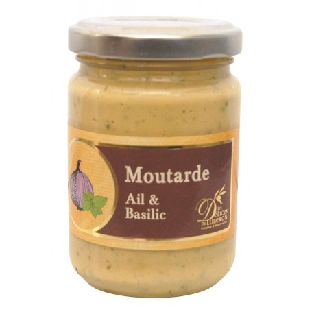 Moutarde ail basilic